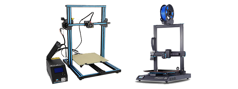 Large Build Area 3D Printers Card